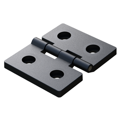 Symmetric hinge with 4 allen holes