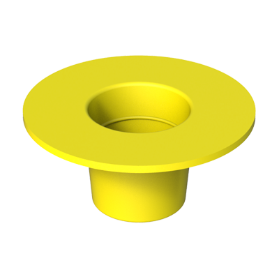 Tapered plug - tapered cap with flange