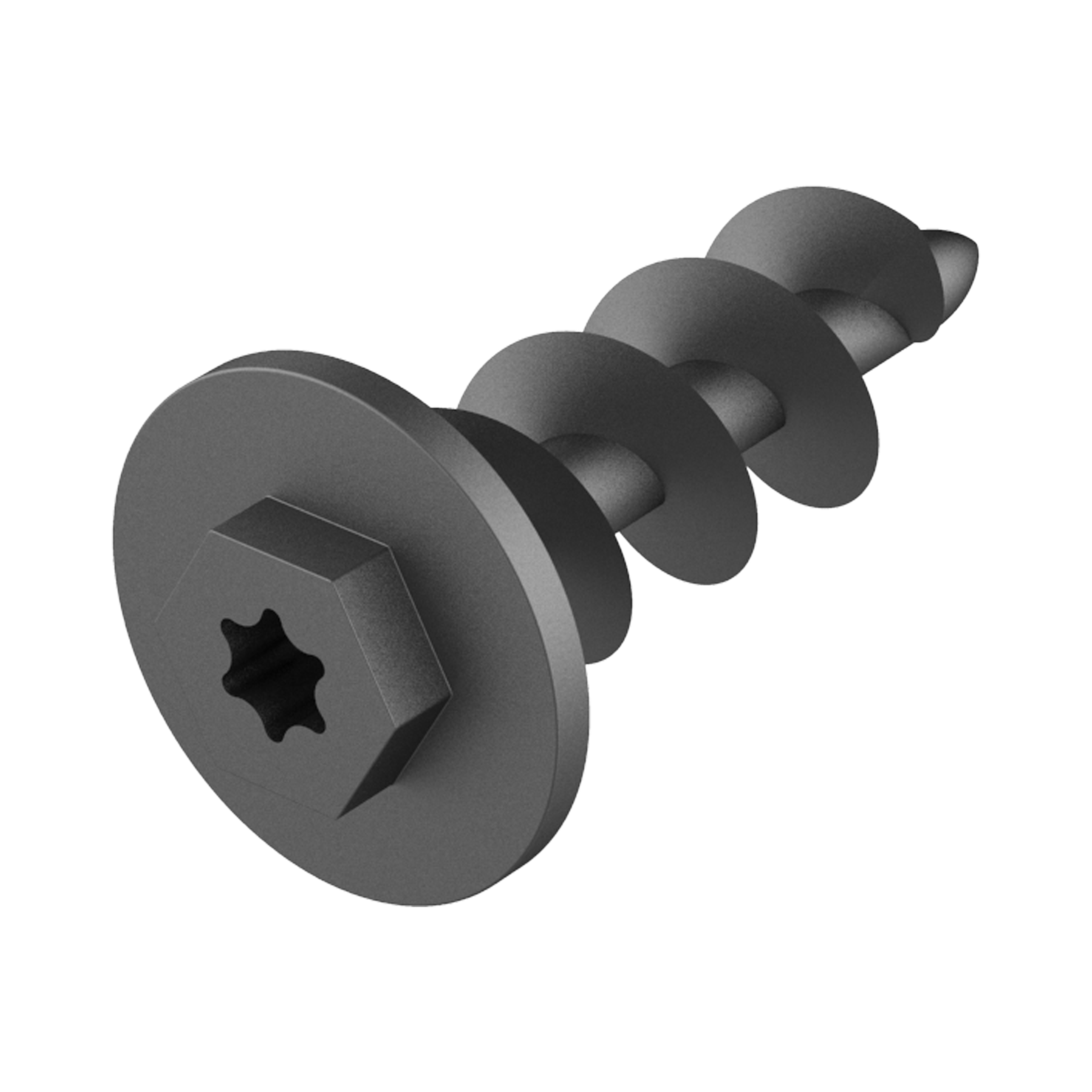 Quick assembly screw